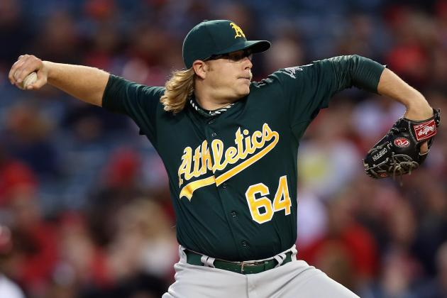 A's Keep Rolling, Rout Angels for 8th Straight Win