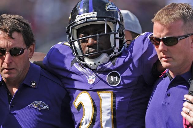 Lardarius Webb Confident in Recovery from Torn Anterior Cruciate Ligament