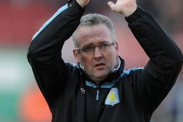 Paul Lambert Not Letting Up as Aston Villa Look to Continue Good Form