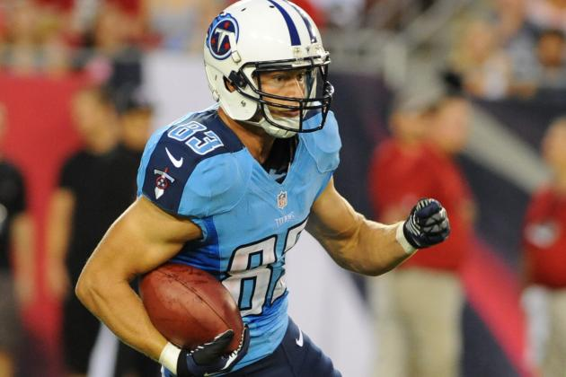 Tennessee Titan Marc Mariani Believes Injury Recovery Is on Schedule