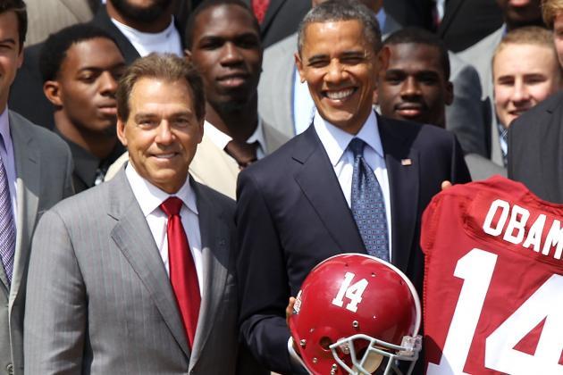 Alabama Set to Visit White House on Monday