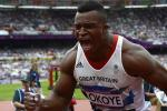 British Olympian Lawrence Okoye Visits 49ers; Saints Next
