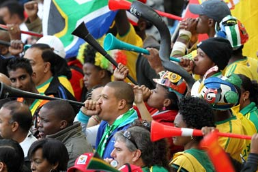 Vuvuzela Ban Pondered by South African Officials After Series of Attacks