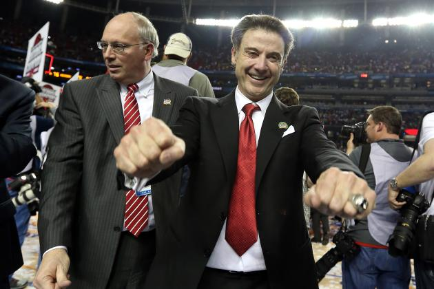 Rick Pitino Made a Tattoo Decision (and It's Not a Tramp Stamp)