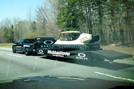 Bubba Watson's Hovercraft Golf Cart Sighted Around Augusta