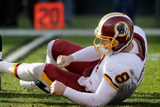 Redskins' Rex Grossman Admits He's Can't Run Option