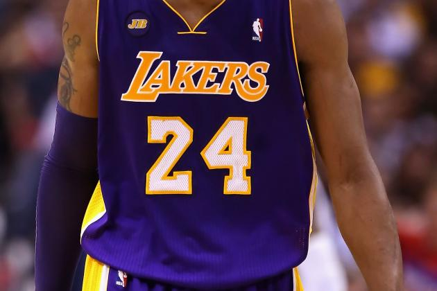 Lakers' Kobe Bryant Has the Fourth-Hottest-Selling Jersey