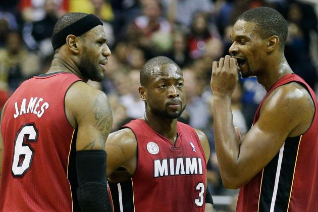 Heat to Play LeBron, Wade, Bosh Friday vs. Celtics