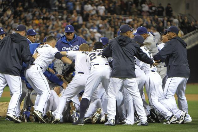 Los Angeles Dodgers: Brawls Should Never Happen in Baseball