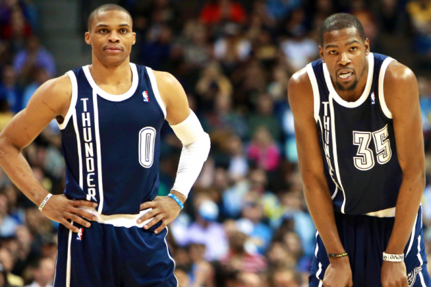 Is Russell Westbrook Really Holding Kevin Durant Back?