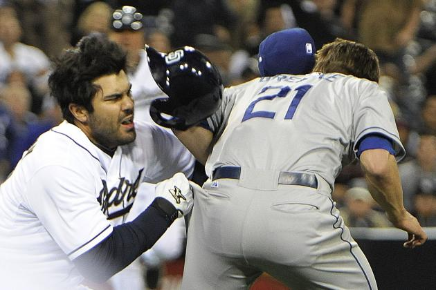 Dodgers-Padres Brawl: How Long Should Carlos Quentin Be Suspended For?