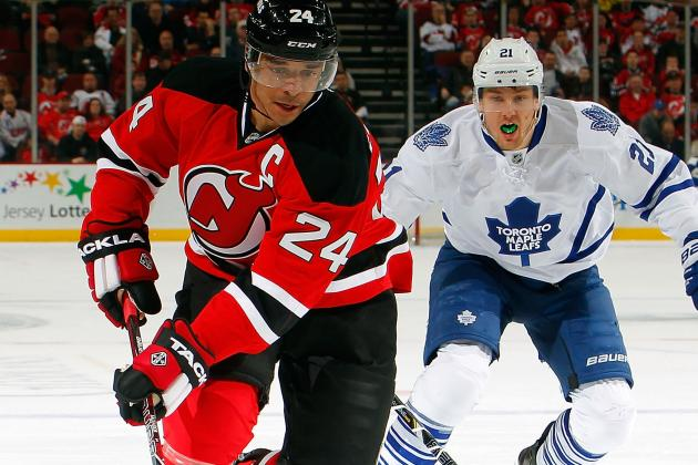 Report: Devils' Captain Salvador (Wrist) out Tonight vs. Ottawa