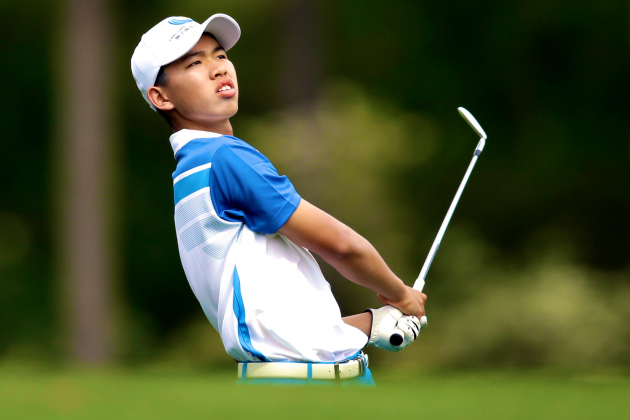 Tianlang Guan: Get to Know Golf's 14-Year-Old Prodigy