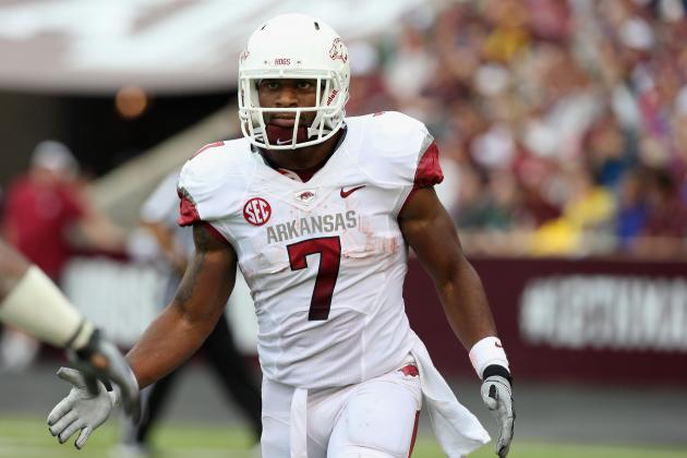 Knile Davis Scouting Report: NFL Outlook for Arkansas RB
