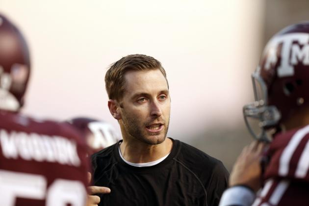 Texas Tech's Kliff Kingsbury Leading Youth Movement for College Football Coaches