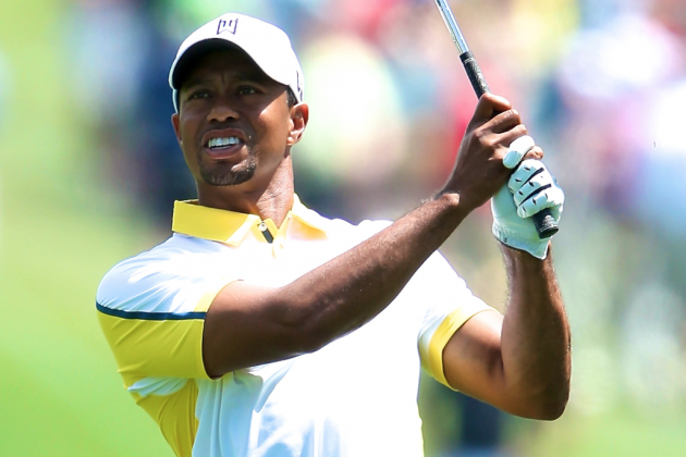 Tiger Woods at Masters 2013: Day 2 Score, Highlights and Updates