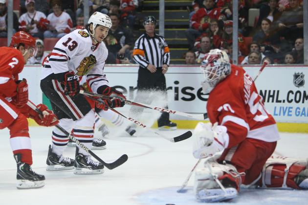 Red Wings-Blackhawks Preview