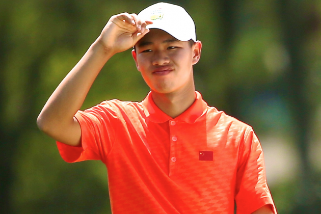 14-Year-Old Penalized at Masters