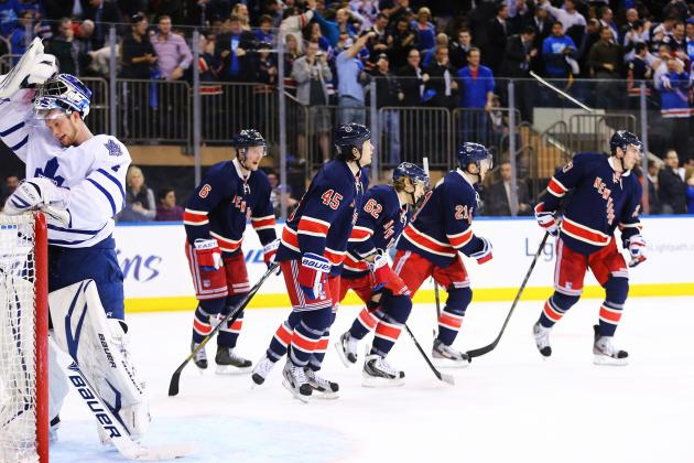 New York Rangers' Top 5 Concerns Down the Stretch