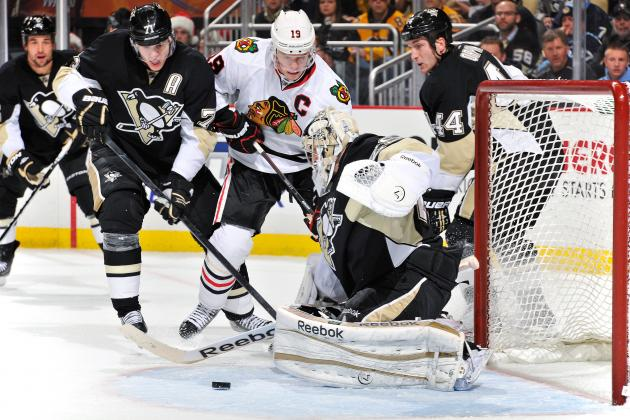 Are the Penguins' and Blackhawks' Streaks Products of the Shortened Season?