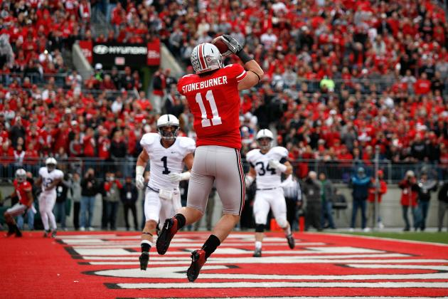 Jake Stoneburner Scouting Report: NFL Outlook for Ohio State TE
