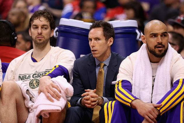Steve Nash Injury Won't Keep Lakers from Making Playoffs