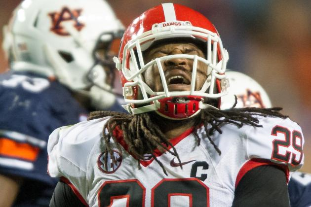 Georgia OLB Jarvis Jones Visits Colts