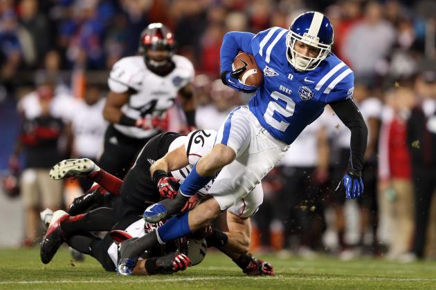 Conner Vernon Scouting Report: NFL Outlook for Duke WR
