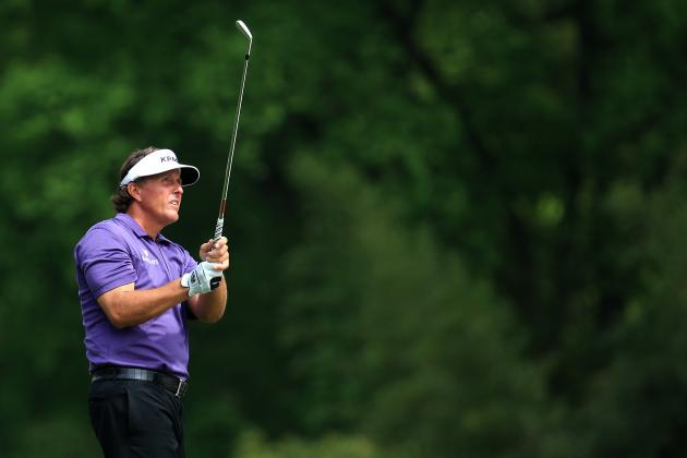 Projecting Phil Mickelson's Day 3 Score at 2013 Masters