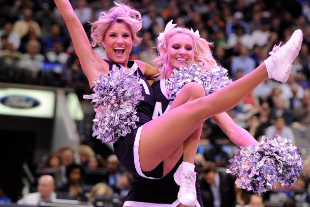 Meet the Dallas Mavericks' Larger-Than-Life Dancing Team