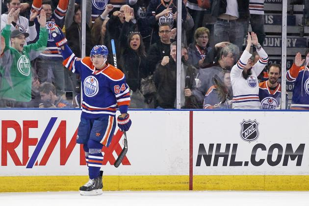 Nail Yakupov's Rookie Season a Success with the Edmonton Oilers
