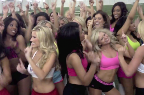 WWE News: Fandango Madness Takes over Houston Texans Cheerleader Practice