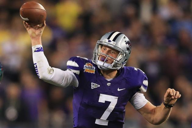 K-State's Collin Klein Determined to Show NFL He Can Be a QB