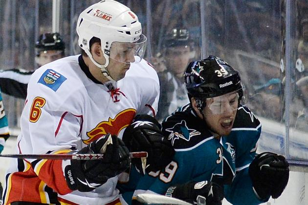 San Jose Sharks Are 8-1-1 Since Trading Three Veterans