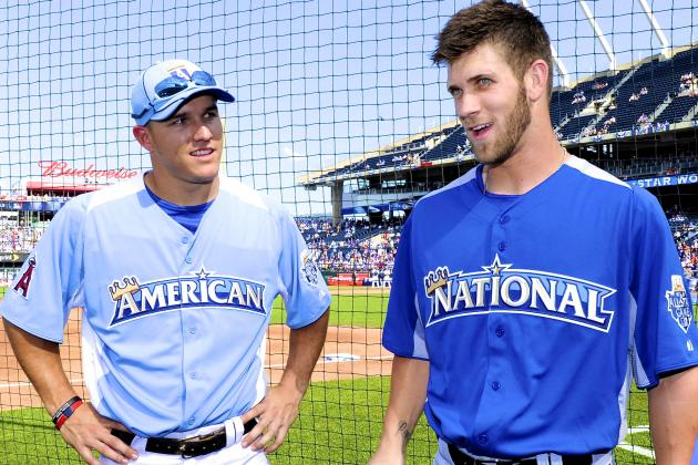 Can Bryce Harper, Mike Trout Both Go from Rookie of the Year to MVP in 2013?