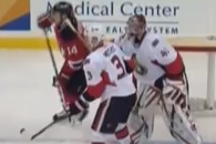 VIDEO: Craig Anderson High Sticks Adam Henrique in the Face
