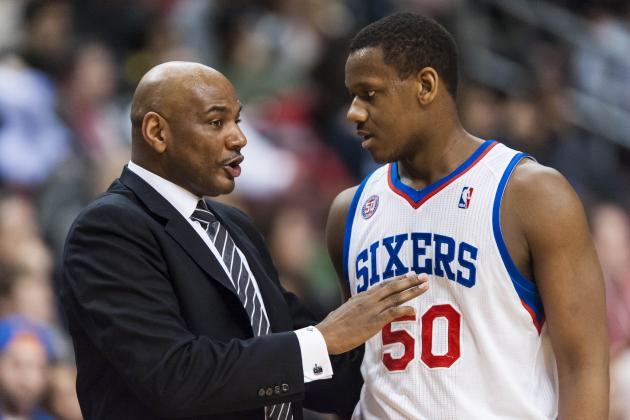 Philadelphia 76ers' Lavoy Allen Gives an Unpromising Quote About His Progression