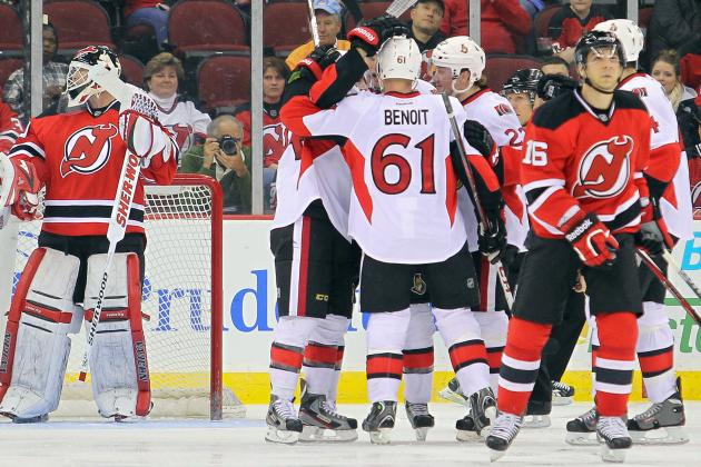 Senators Send Devils to Ninth Straight Loss