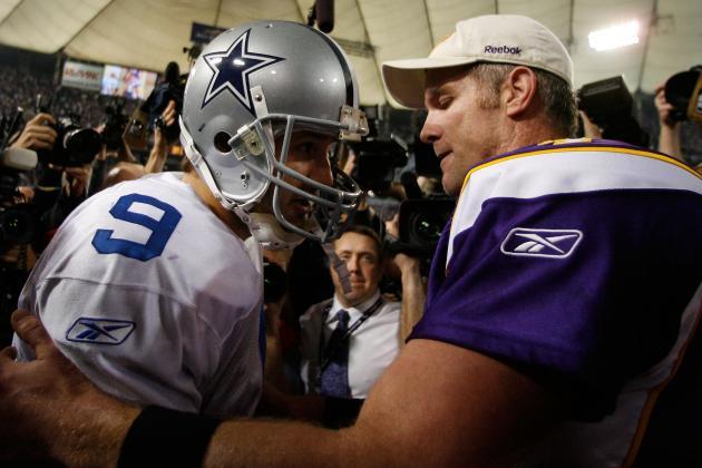 Brett Favre Praises Tony Romo