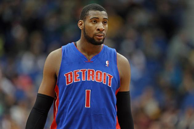 Andre Drummond Twists Ankle in Pistons' Victory over Bobcats