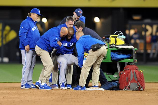 Jose Reyes Leg Injury: Does This Ruin Blue Jays Chances of a Postseason Berth?