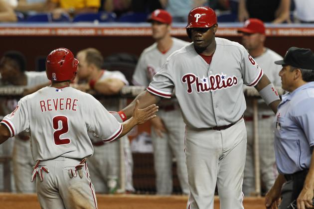 Phillies Score Twice in 10th to Beat Marlins