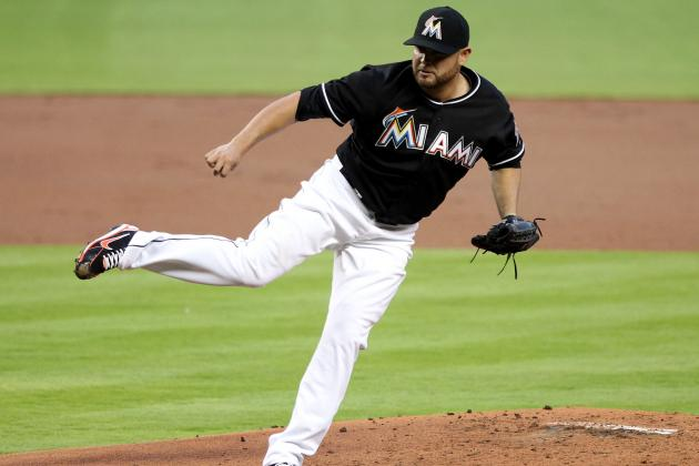 Marlins Lose to Phillies in 10 Innings; Stanton Ailing
