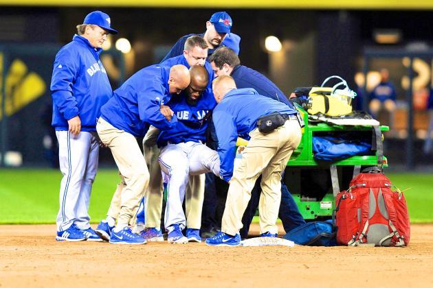 Jose Reyes Sprains Ankle on Slide, Best- and Worst-Case Scenarios