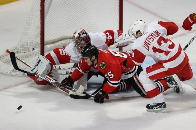 Detroit Red Wings Cling to 8th Place After Shootout Loss to the Blackhawks