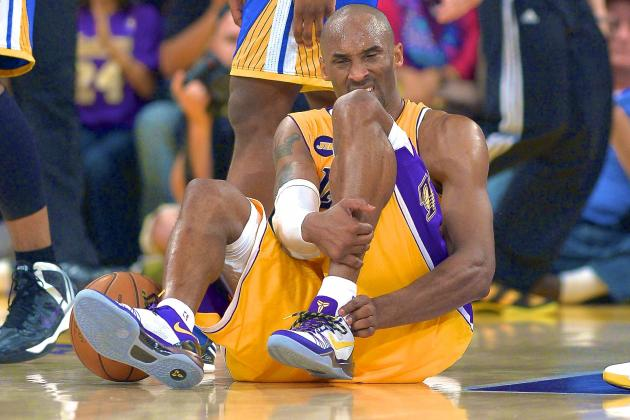 Kobe Bryant Feared to Have Torn Achilles, Next Season in Jeopardy