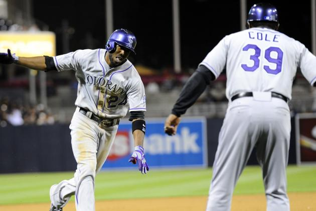 Fowler Hits Tiebreaking HR as Rockies Tip Pads