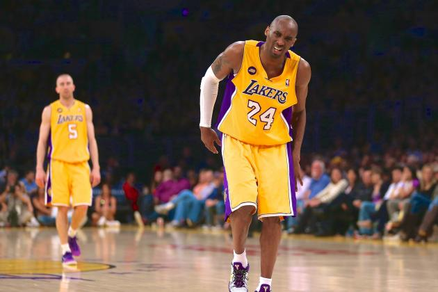 Twitter Reacts to Kobe Bryant's Possible Torn Achilles