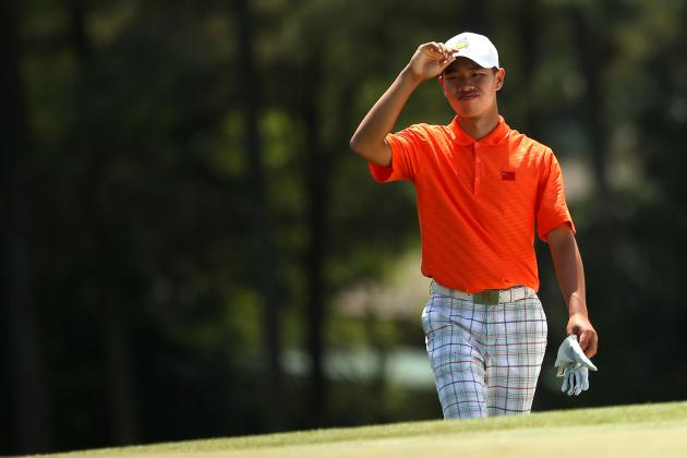 Tianlang Guan Will Continue to Make History in Round 3 of Masters