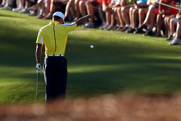 Masters 2013: Tiger Woods' Penalty Decision a Mistake by Augusta National